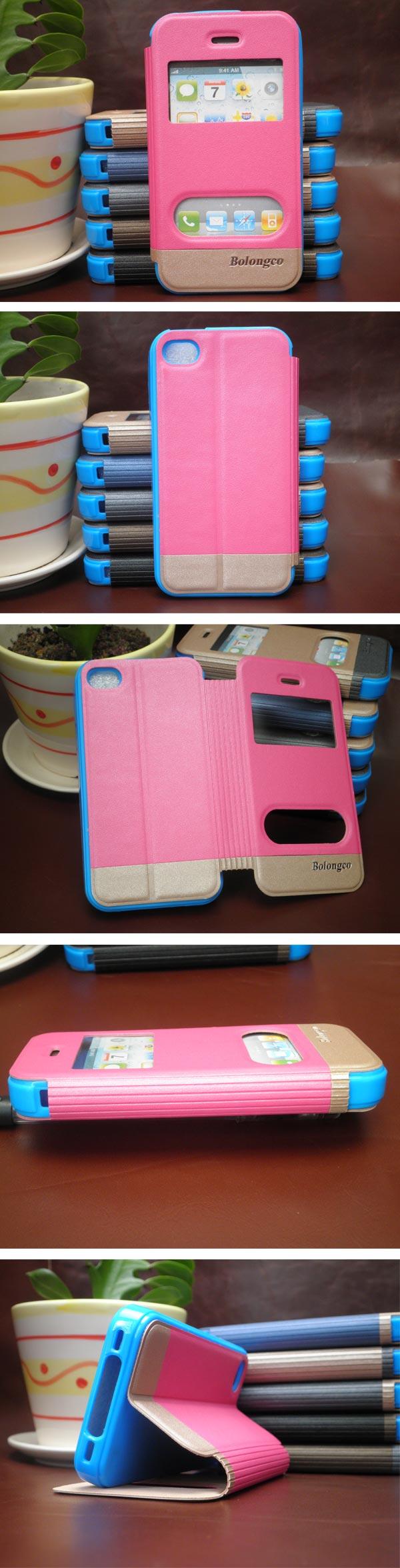 Mais novo caso de proteção para o iphone 4 5 6 plus com janelas feitas à mão telefone celular accerries para caixa do telefone móvel iphone