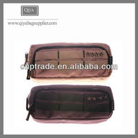 Waterproof Canvas Two Sided Craft Pencil Case