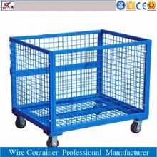 Cargo storage roll wire mesh steel cage