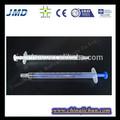 3- partes médicos de tuberculina seringa 1ml ce/iso/certificada gmp