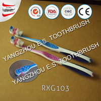 2015 hot sale nylon bristle rotating electric toothbrush