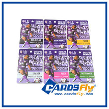 Full Color Offset Printing Plastic PVC Cards, CR80 UV Printing Plastic Cards China Supplier