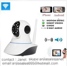 Home use mobile remote control wifi p2p baby monitor /nanny camera