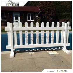Fentech Uv protected Pvc/Plastic Australia Temporary Fence
