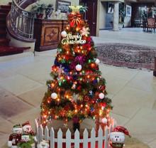 1.5m/1.8m pvc christmas green christmas tree