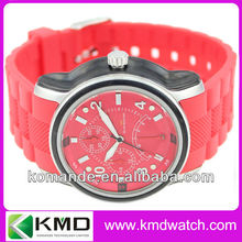 Newest cheap hot selling gift quartz stainless steel back lovers sillicon watch