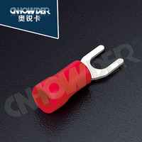 SV 1.25-12 13mm high voltage resist insulated spade connectors 1/2inch
