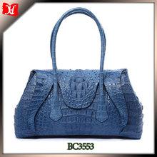 2014 high quality OEM genuine crocodile skin handbags ladies leather handbag