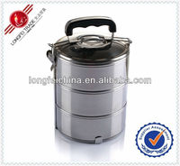Container Home 16cm*3 Wholesale Stainless Steel Lunch Box