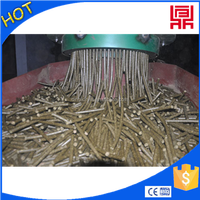 2015grain stalks/wheat straw/pea vines/trees/leaves pellet mill machines