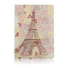 printing smart colorful leather pu flip cover case for ipad air