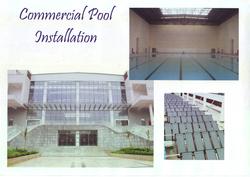 Chlorinator resistant rigid Anti-UV Solar Pool Heating Collector