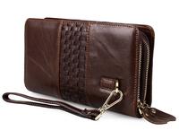 J.M.D Wholesale Best Selling Men Genuine Leather Clutch Bag # 8021C-1