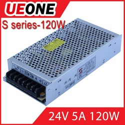 Good product 120w LED power supply 24v 5a switching power supply