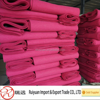 100% polyester staple fiber needle punched nonwoven felt