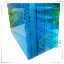 BH-T366 100% Virgin Bayer material twin wall 10mm smoke polycarbonate sheet