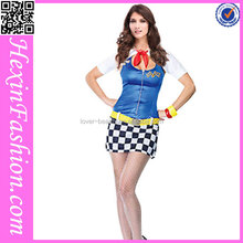 wholesale colorful cute hot sexy school girl costume photos