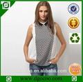 pantalones vaqueros pantalones y camisa blusa elegante para la señora oficina uniforme de los diseños para las mujeres