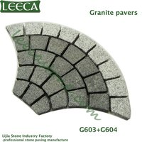 Driveway patio pavement stone | mesh back cobble stones