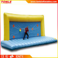 best priceInflatable Football Shoot And Save, inflatable sport game, inflatable football goal for sale