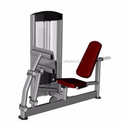 Commercial Fitness Gym Equipment / Seated Leg Press / Calf Press Machine