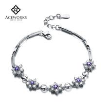 2015 Hot Sale sterling silver jewellery wholesale sterling silver charm bracelet