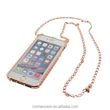 Mini Cat Pattern Diamond Bling phone case for iphone 6 CO-MTL-6012