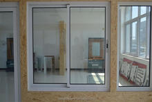 Popular fire rated glazed aluminum sliding window with double glazing glass for wholesales