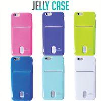 Korea Mobile Phone Accessories Card Pocket Jelly Case For Iphone 6,Roarkorea Card Pocket Tpu Case