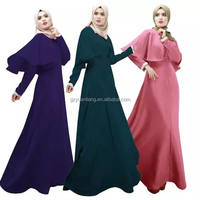 2015 latest design colored abayas-YL0881