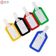 Fashion Plastic PVC Travel Luggage Tag Holder/Travel Luggage Tag Covers