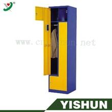 2 door clothing steel Z locker