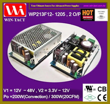 UL CE Approved 12v 5v dual output 300w switch mode power supply