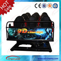 Portable Theater Seating 9D Cinema Simulator With Commercial Theater Projectors