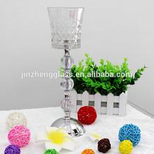 Venta al por mayor candelabros central de, Mercurio oro de la boda candelabros, Vidrio de mercurio titular de la vela