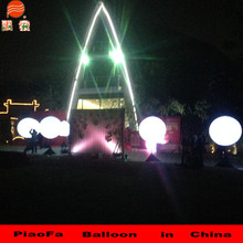 high quality hot sale centerpiece stand wiht LED light ballon cheapest price