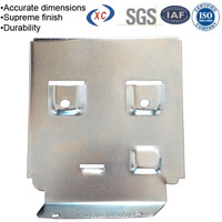 Custom auto parts zinc plating mounting stainless steel metal brackets