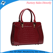 Fashion good quality women popular beautiful girl leather handbags