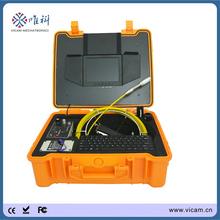2014 hot venda de água detector tubo camera câmera de inspeção subaquática com localizador