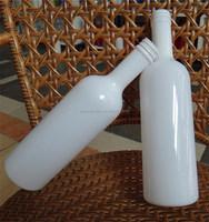 750ml white glass bottle for massage oil