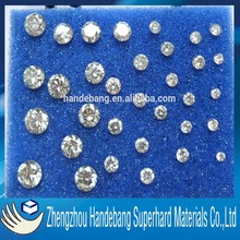Factory Sale High Quality Light Yellow/Green Synthetic Moissanite Beads