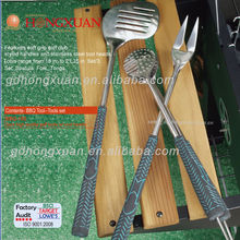 bbq accessories BBQ-18S bbq Golf Club BBQ Tool Set