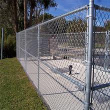 Fencing, Trellis & Gates Type chain link fencing for gardans