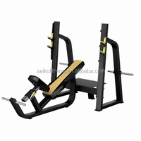 Most substantial physical fitness training machine / gym weight exercise equipment / Olympic lifting bench JG-1611