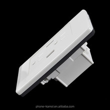 Jingze Kamol Dual USB Port Wall Charger Dock Station Socket Power US Standard Outlet Panel