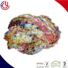 4% mohair 4% wool 17% nylon 73% acrylic yarn blend of pompom knitting yarn