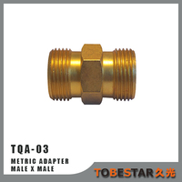 Pressure Washer Brass Adaptor M22 Male Metric Adapter