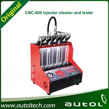 gasolina limpiador de inyectores y probador de coches, limpiador de inyectores y probador CNC600 combustible