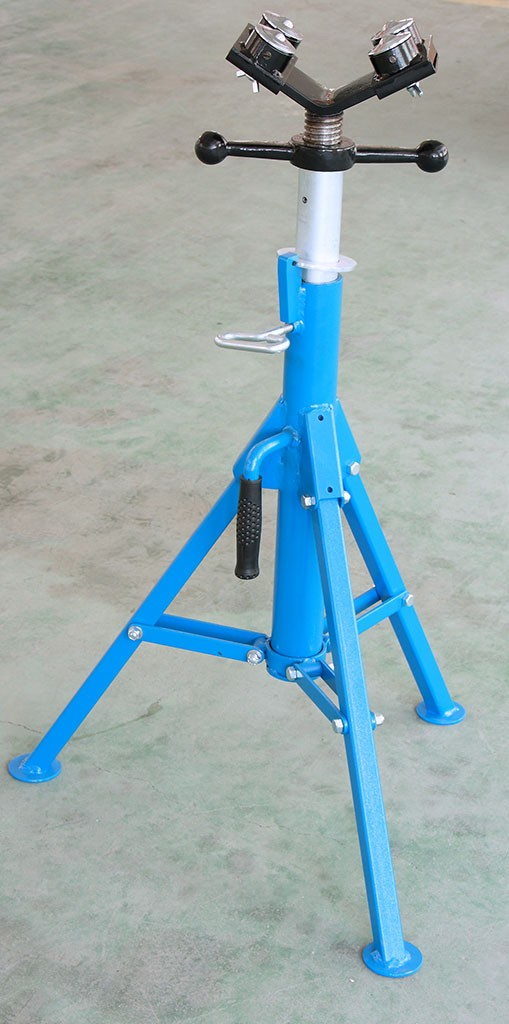 1107B réglable quatre rotule la pipe stand / tuyau rouleau stands avec 4 boules