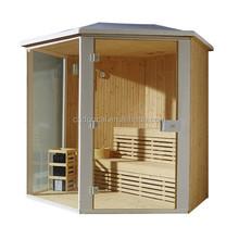 Luxury Outdoor Pine Dry Finish Sauna Room (GS-M6012)